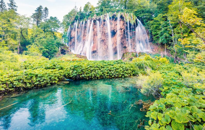 Plitvice Lakes National Park Tour from Zagreb