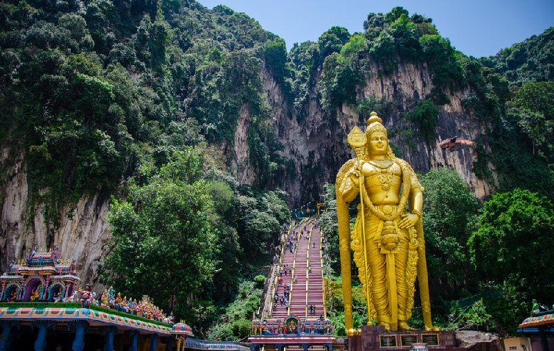 Kuala Lumpur Countryside and Batu Caves Tour