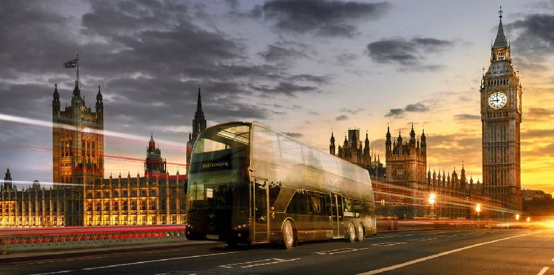 Bustronome London Dinner Menu: London Sightseeing + British Gastronomy
