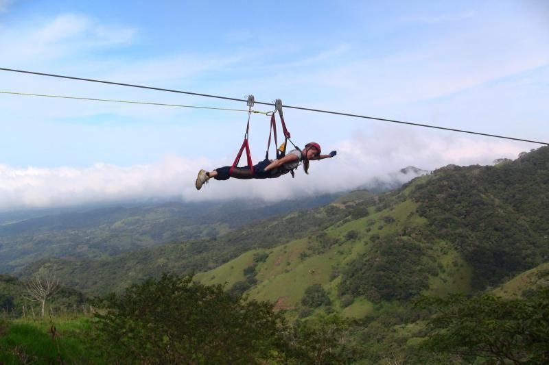 1-Day From Puntarenas - Canopy Tour & Superman Flight