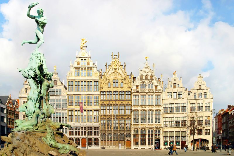 Antwerp Half Day Tour from Brussels