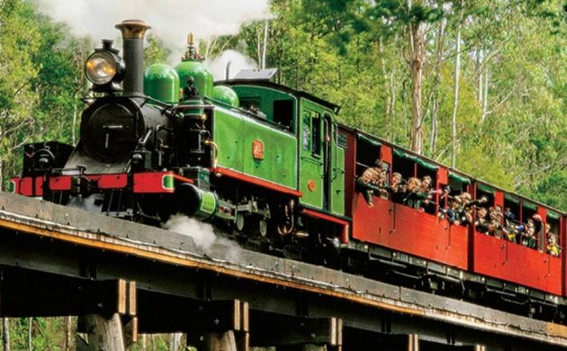 Puffing Billy Steam Train Half-Day Tour from Melbourne