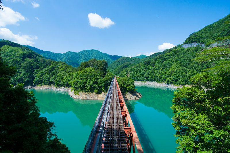 Japan Southern Alps Abt Line Train Tour from Nagoya