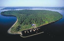 4-Hour Evergreen Excursion of Blake Island