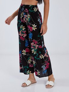 Floral παντελόνα SG1709.1218+1