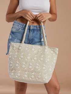 Τσάντα με κέντημα SG673.A173+2