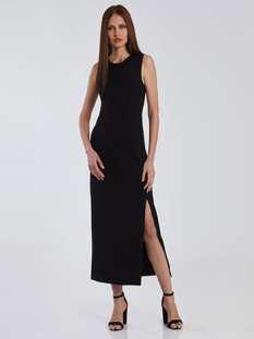 Αμάνικο φόρεμα με διακοσμητική ραφή SG8582.8001+1