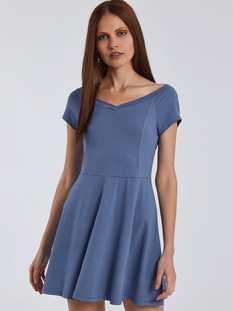 Φόρεμα με V λαιμόκοψη SG8584.8001+2