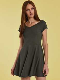Φόρεμα με V λαιμόκοψη SG8584.8001+4
