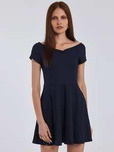 Φόρεμα με V λαιμόκοψη SG8584.8001+3