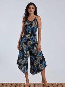 Ολόσωμη φόρμα με φύλλα SG9888.1267+1
