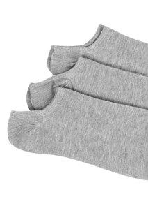 Σετ με 3 ζευγάρια χαμηλές κάλτσες WE9858.0803+1