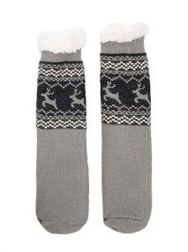 Fleece αντιολισθητικές ανδρικές κάλτσες WE9858.A604+1