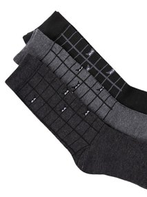 Σετ με 3 ζευγάρια ανδρικές κάλτσες WE9869.0213+3