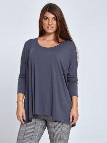 Μακρυμάνικη μακριά μπλούζα WL4637.4001+9
