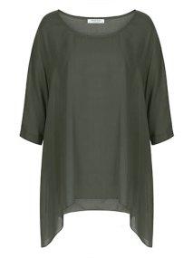 Plus size κοντομάνικη μπλούζα WL4800.4001+5