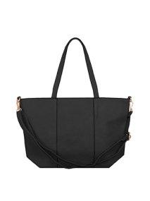 Τσάντα ώμου με διακοσμητικές ραφές WL7870.A011+4