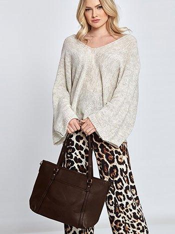 Τσάντα ώμου με τσέπη WL7870.A026+7