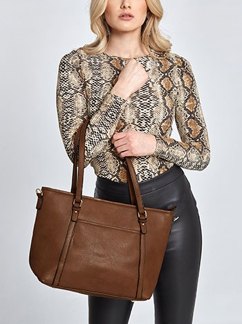 Τσάντα ώμου με τσέπη WL7870.A026+1