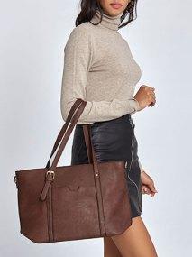 Τσάντα ώμου με τσέπη WL7870.A036+2