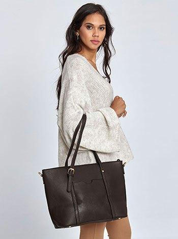 Τσάντα ώμου με τσέπη WL7870.A036+4
