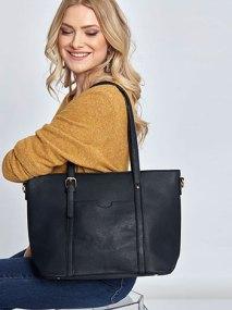 Τσάντα ώμου με τσέπη WL7870.A036+7