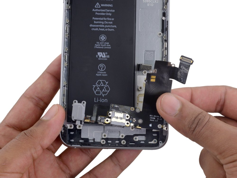 medium resolution of iphone 6s plus lightning connector and headphone jack replacement