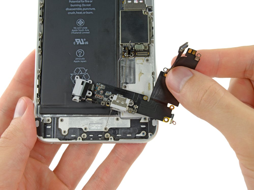 medium resolution of iphone 6 plus lightning connector and headphone jack cable iphone 6 headphone jack wiring diagram