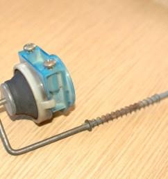 repairing mercedes w123 fuel door lock actuator [ 2664 x 1998 Pixel ]