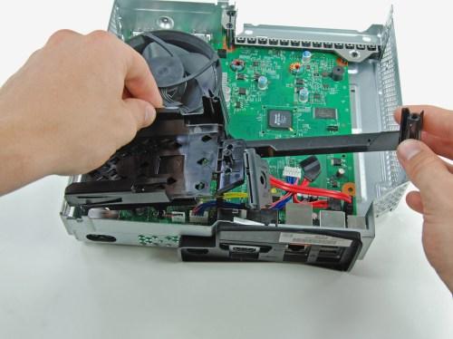 small resolution of hard drive bracket xbox 360 s repair ifixit hard drive bracket xbox 360 slim fan wiring diagram