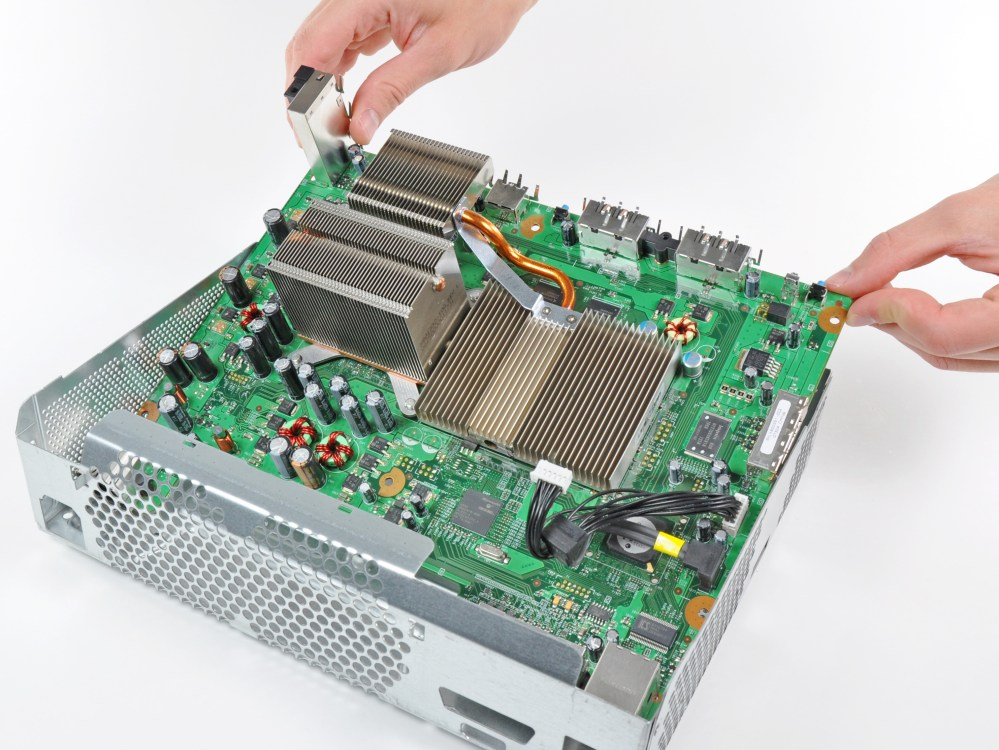 medium resolution of xbox 360 motherboard replacement ifixit repair guide rh ifixit com xbox 360 slim motherboard schematic diagram xbox 360 controller motherboard diagram