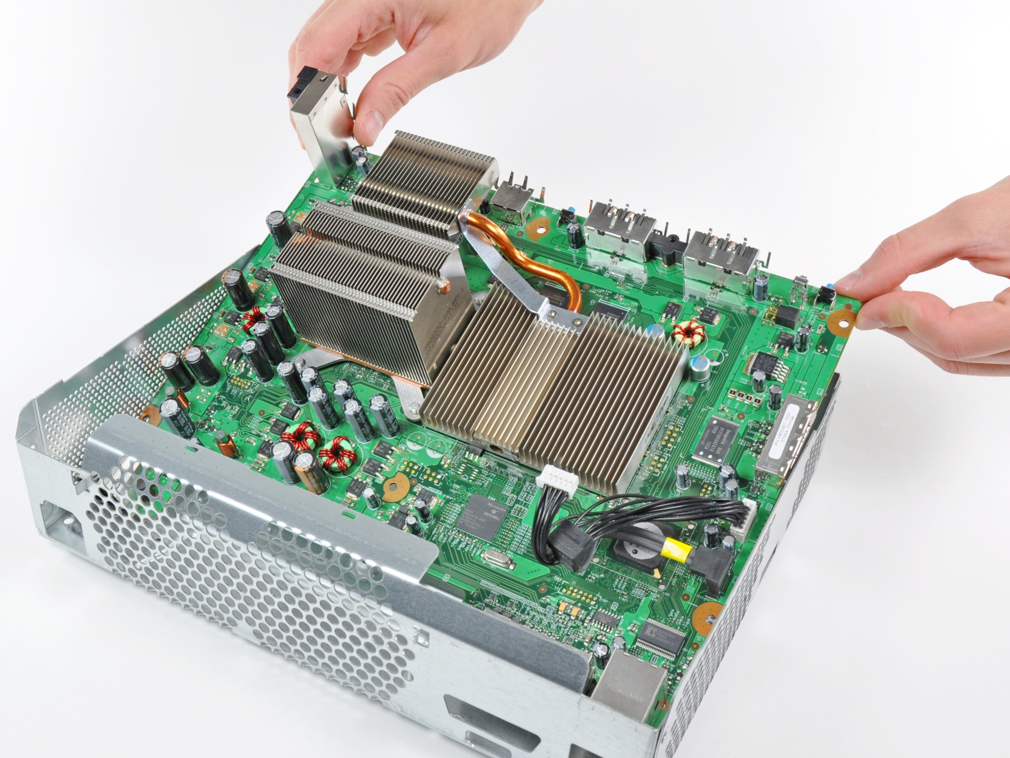 hight resolution of xbox 360 motherboard replacement ifixit repair guide rh ifixit com xbox 360 slim motherboard schematic diagram xbox 360 controller motherboard diagram