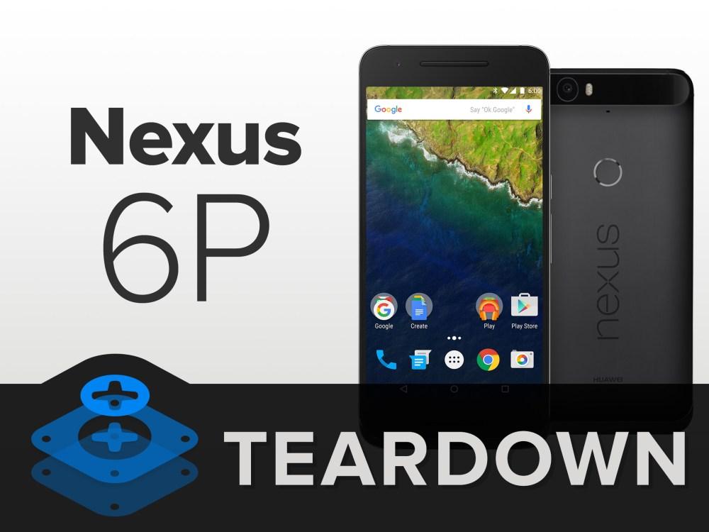 medium resolution of nexus 6p teardown ifixit