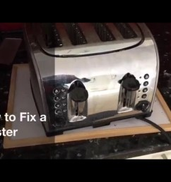 how to fix a blown heater element in a toaster [ 2048 x 1536 Pixel ]