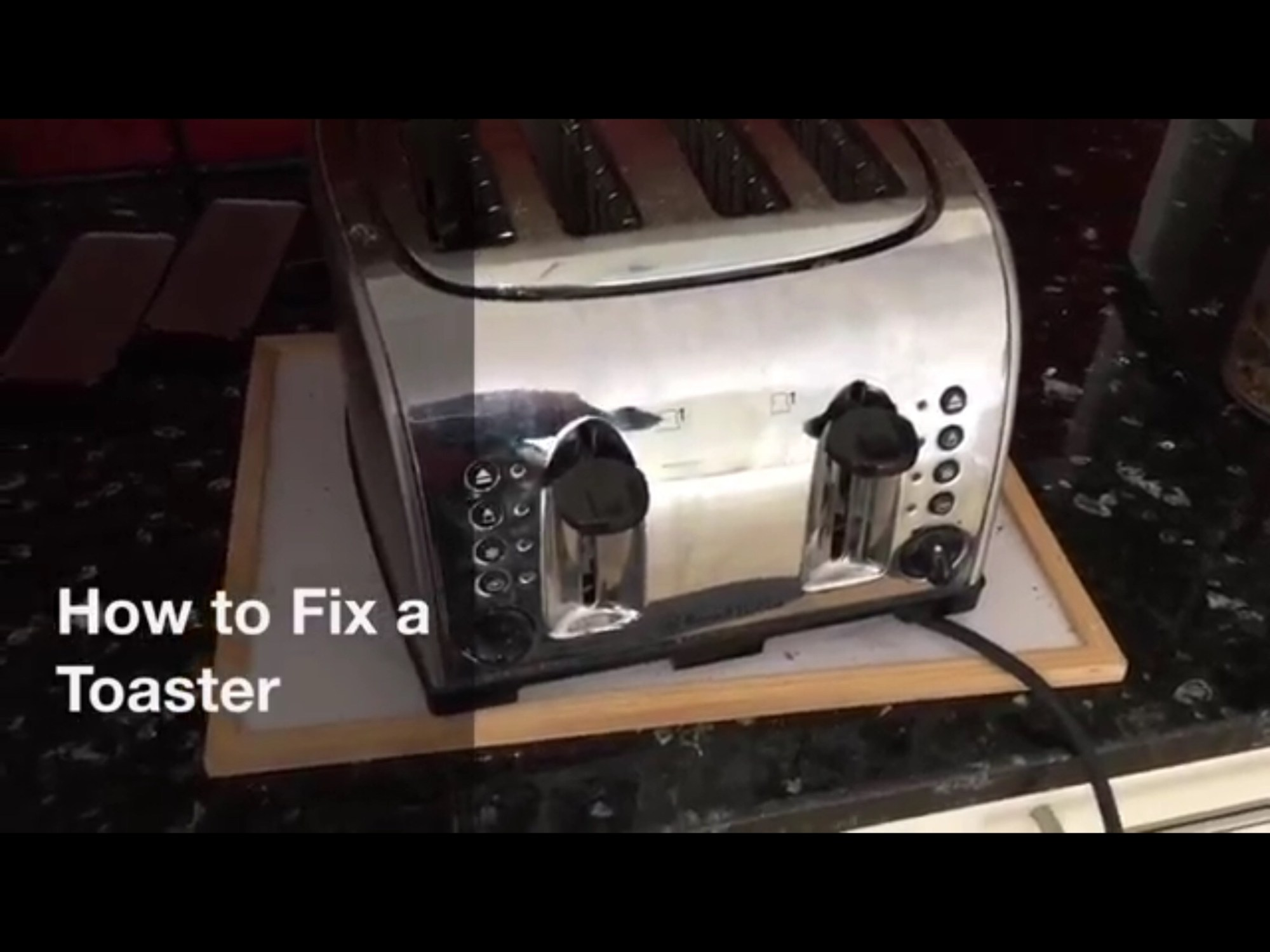 hight resolution of how to fix a blown heater element in a toaster