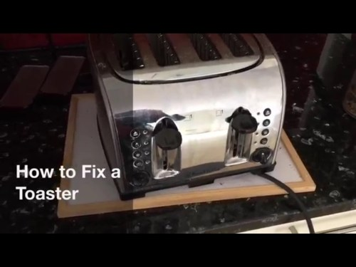 small resolution of how to fix a blown heater element in a toaster