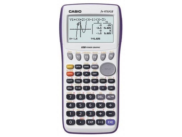 calculator repair ifixit
