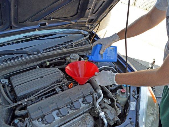 D17a Engine Diagram 2001 2005 Honda Civic Oil Change 2001 2002 2003 2004