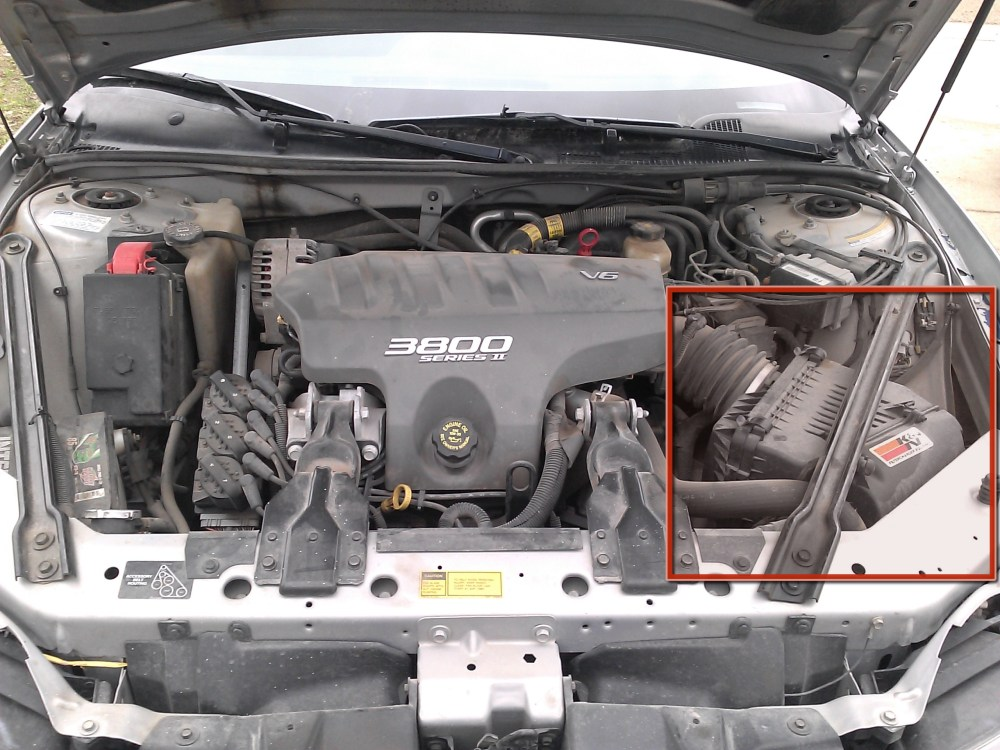 medium resolution of 1997 2003 pontiac grand prix gt air filter replacement 1997 1998 1999