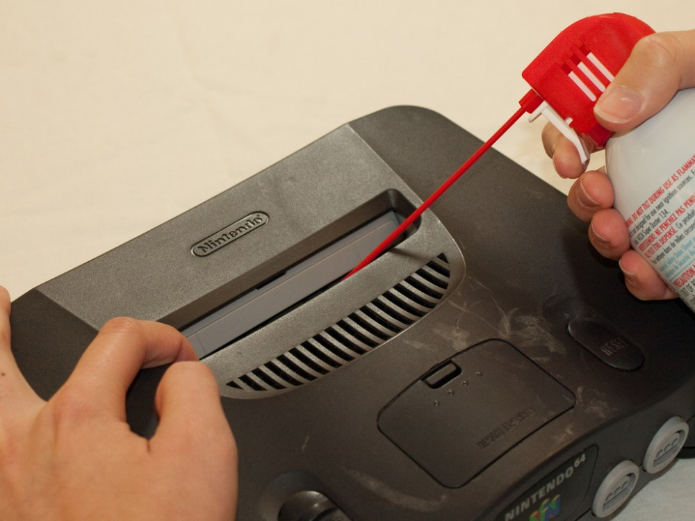 medium resolution of how to clean the nintendo 64 cartridge slot