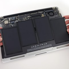 0 Amperage Macbook Battery Bt Nte5 Master Socket Wiring Diagram Air 13 Quot Early 2014 Replacement Ifixit
