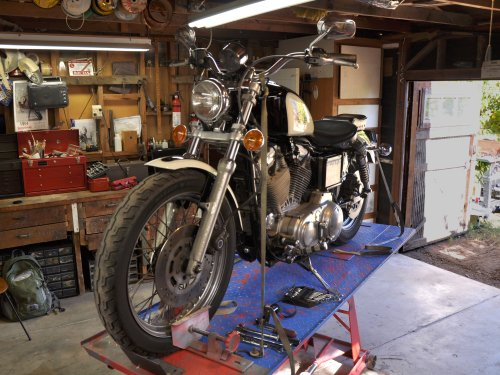 small resolution of harley davidson sportster evolution oil change