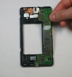 nokia xl dual sim motherboard replacement ifixit repair guide simple circuit diagrams nokia x circuit diagram [ 3664 x 2748 Pixel ]
