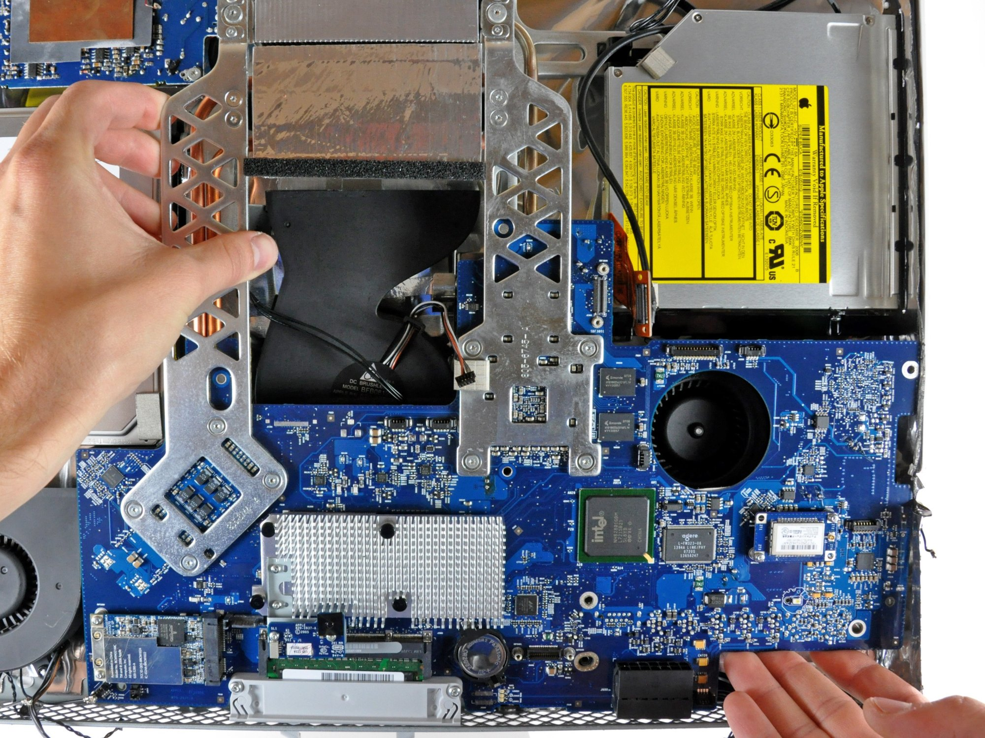hight resolution of imac intel 20 emc 2105 and 2118 logic board replacement ifixit motherboard brands imac motherboard diagram