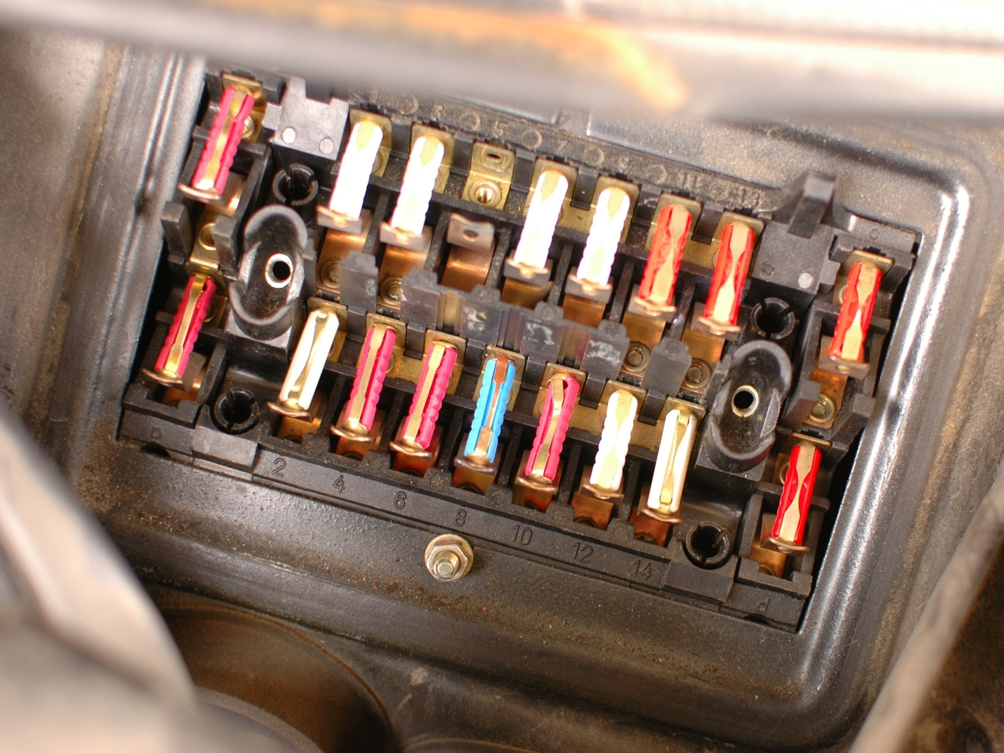 hight resolution of how to check mercedes w123 fuses ifixit repair guide