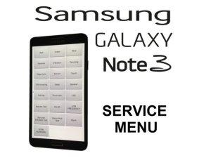 Samsung GALAXY Note 3  Service  Test menu  iFixit Repair Guide
