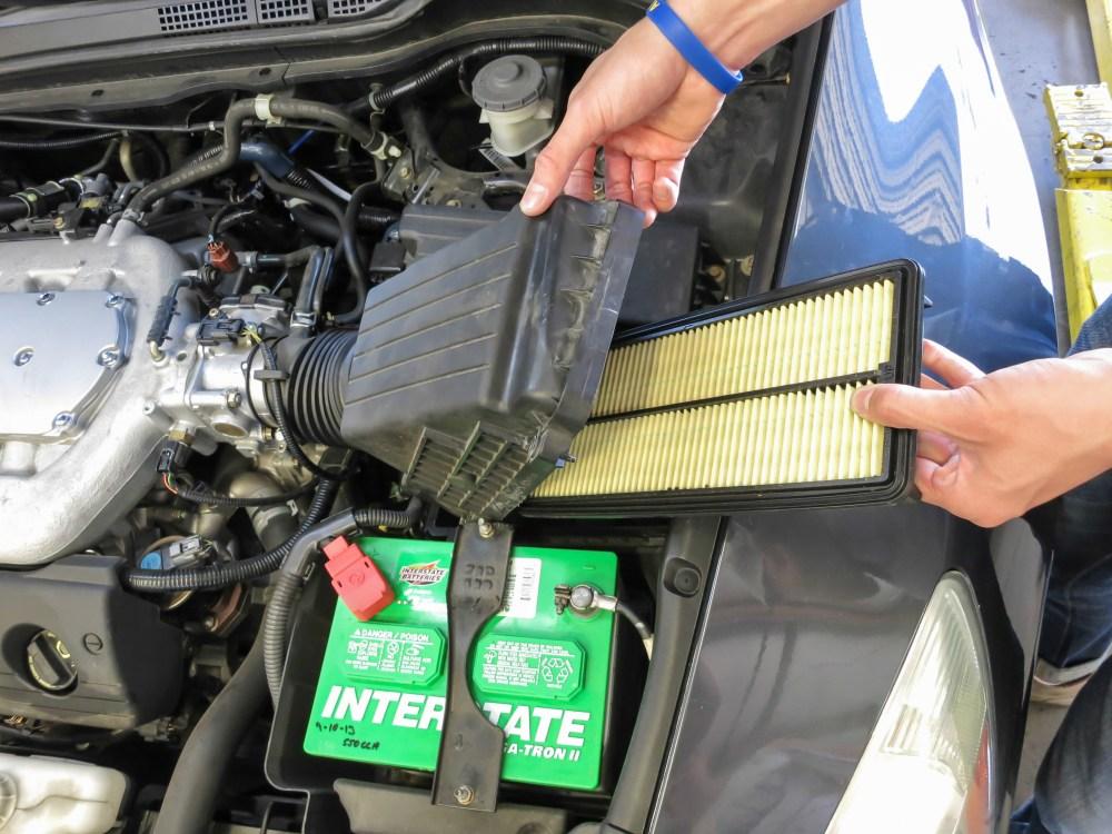 medium resolution of engine air filter