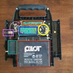Simple Wiring Diagram Light Switch On Off Toggle Jump Starter Power Station Teardown - Ifixit