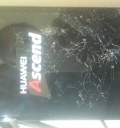 disassembling huawei ascend mate phone mt1 u06 touch screen [ 1276 x 957 Pixel ]