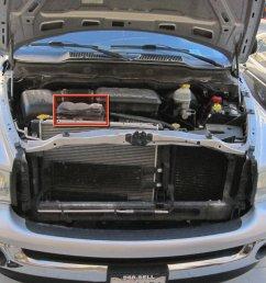 2002 2008 dodge ram 1500 coolant replacement [ 2144 x 1608 Pixel ]